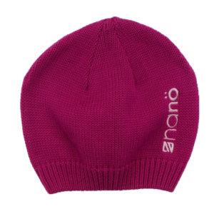 Демисезонная шапка НАНО малиновая