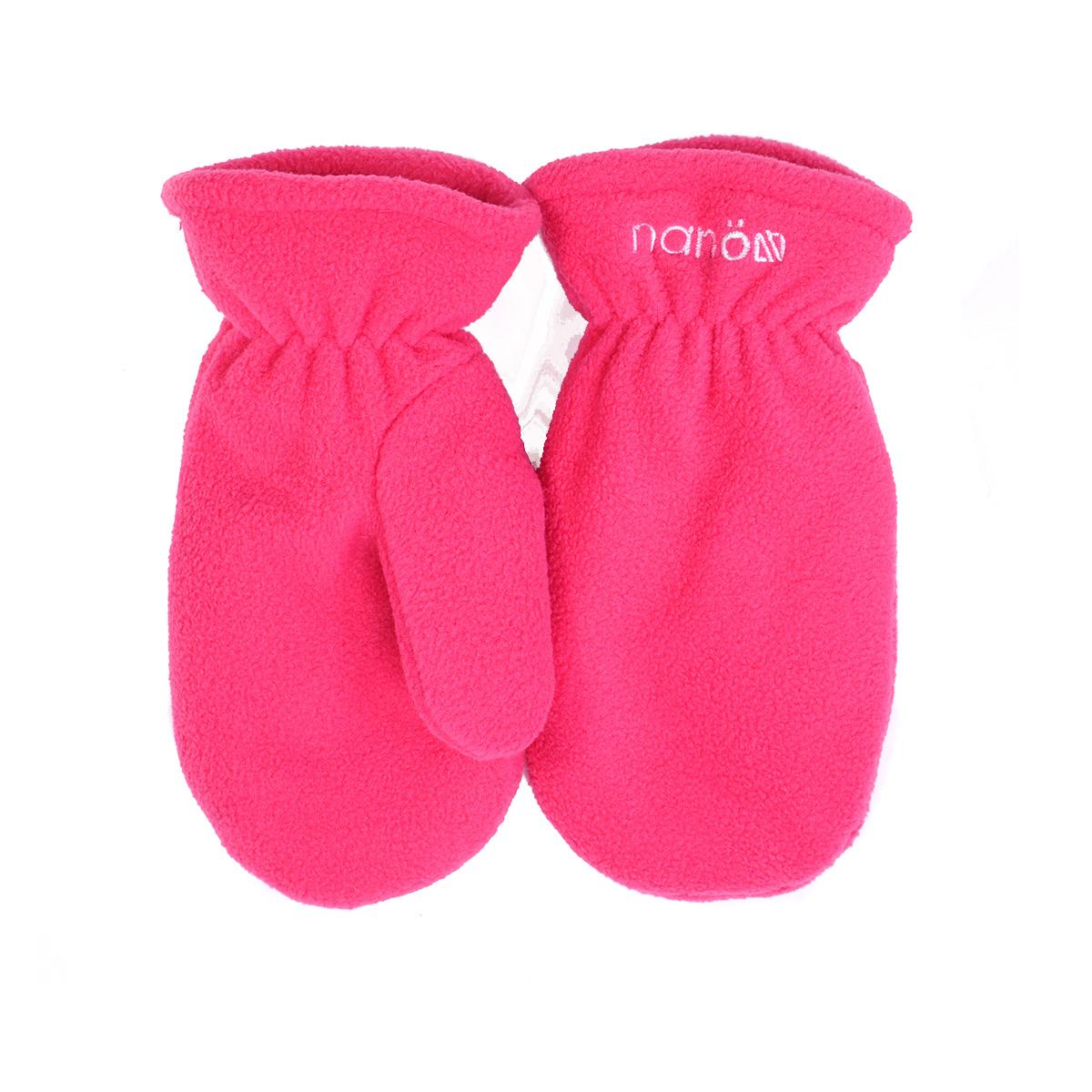 Флисовые зимние рукавицы для девочек