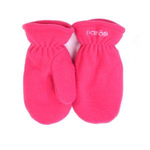 флисовые рукавицы розовые