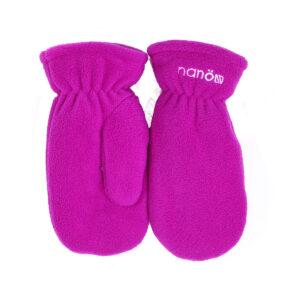Флисовые рукавицы для девочки