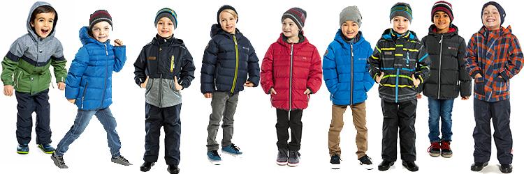 Весенние куртки и комбинезоны для мальчика.