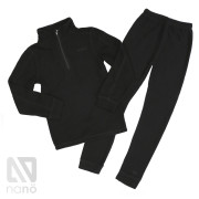 Флисовый костюм НАНО черный
