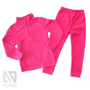 Флисовый костюм НАНО розовый
