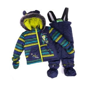 Купить зимний комбинезон на мальчика 1 год - 3 года ПЕЛЮШ BABY F16M11BG