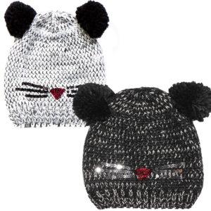 Детская зимняя шапка ПЕЛЮШ F17ACC1500