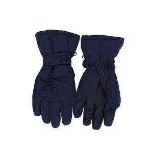 Зимние перчатки краги синие