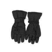Зимние перчатки краги темно серые
