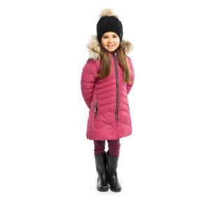 зимнее пальто НАНО розовое