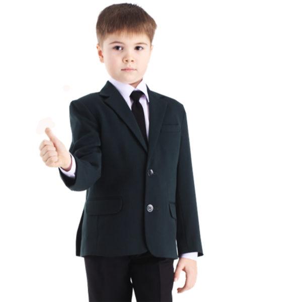 Лицей пиджак черный