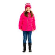 куртка демисезонная для девочки розовая