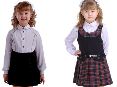 Школьная блузка ПОЛЛЕТ