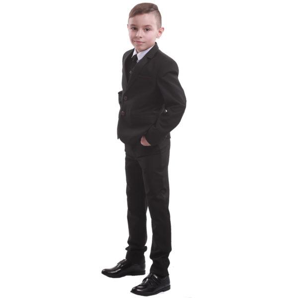 ПРЕСТИЖ костюм черный вельвет