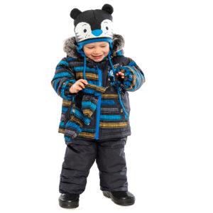 Зимний комбинезон на мальчика 1 год