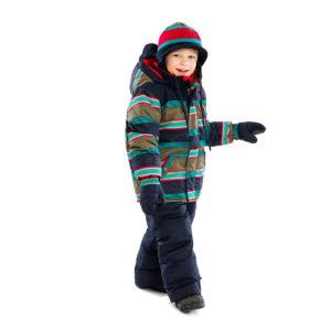 детский зимний комбинезон KIDS F16M67EG