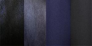 Полотно вельвет і карат синє і чорне.