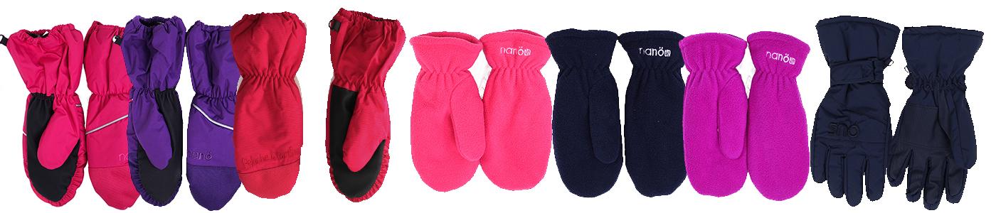 Зимние рукавицы для девочек