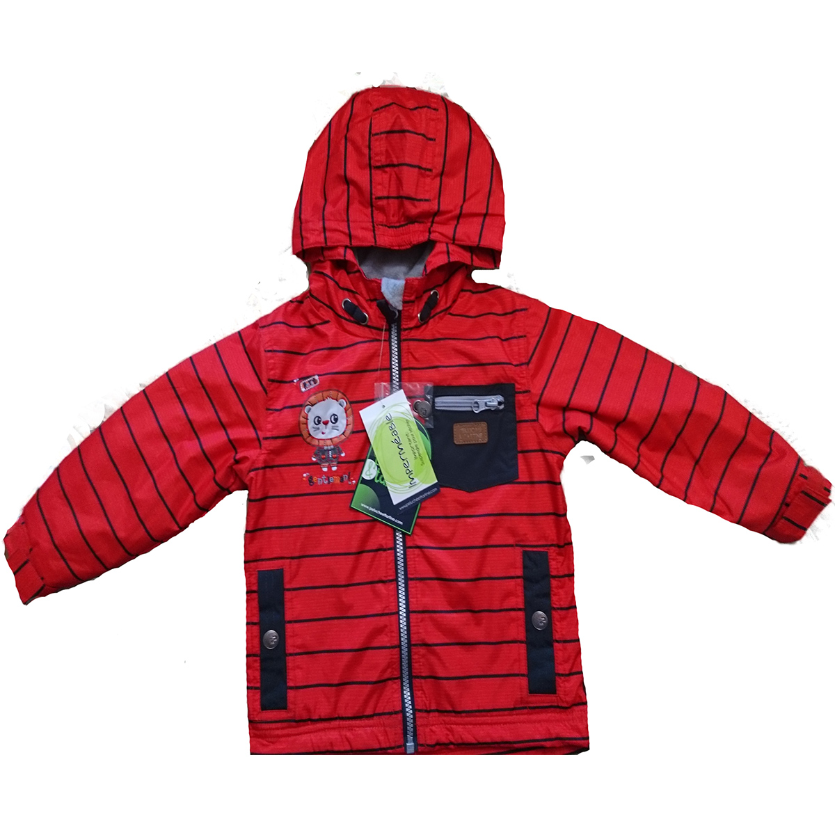 Куртка ветровка ПЕЛЮШ и ТАРТИН на флисе