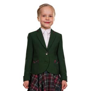 Школьный пиджак для девочки АДЕЛЬ