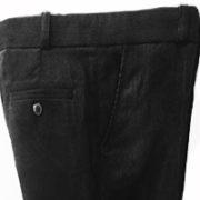 брюки ЧЕЛСИ вельвет черный карманы
