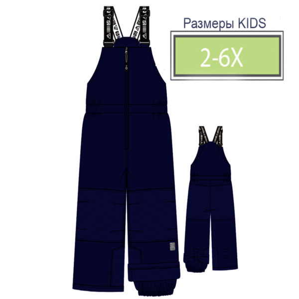 брюки KIDS NANO синие