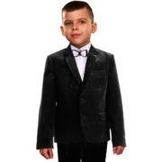 костюм ЭДВИН вельвет черный2
