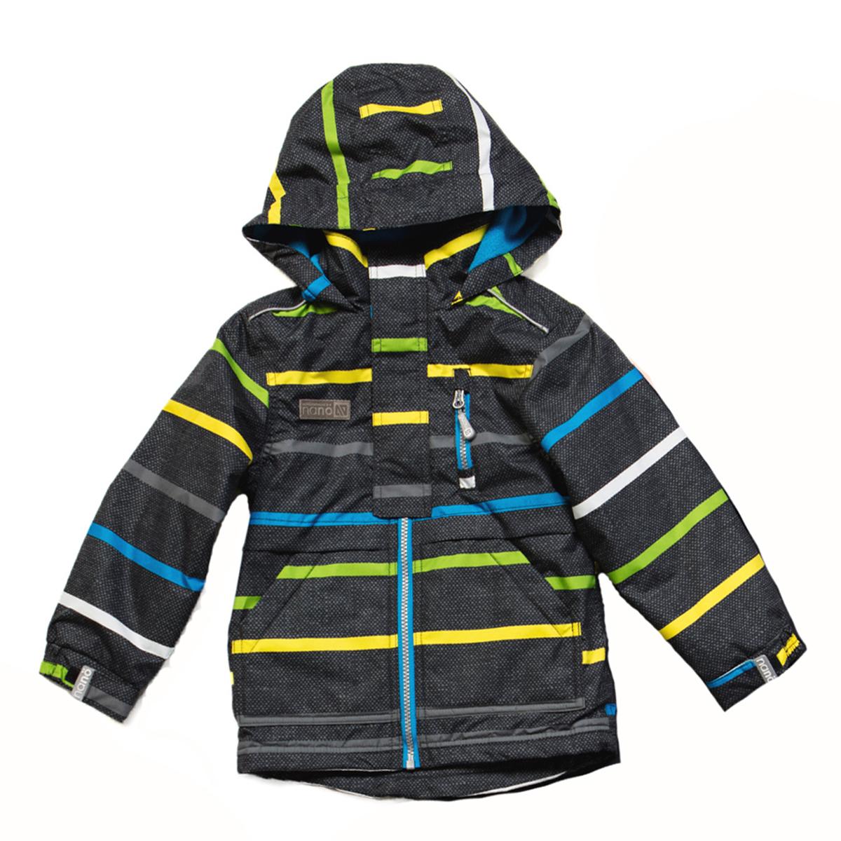 Куртка ветровка на флисе для мальчика