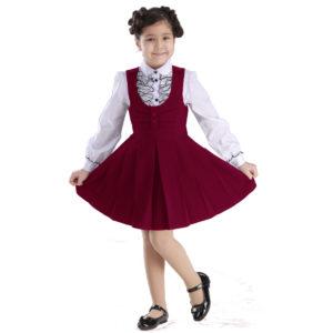 Школьная форма для девочек сарафан
