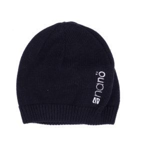 Демисезонная шапка НАНО черная