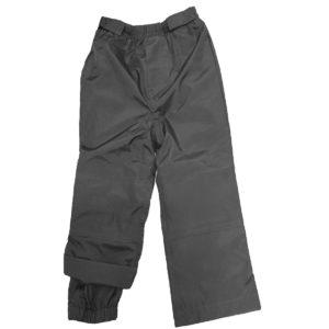 Демисезонные брюки серые