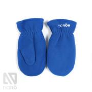 флисовые рукавички голубые