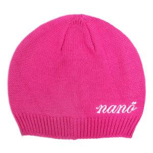 Демисезонная шапка НАНО розовая