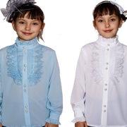 Школьная блузка КРИСТЕЛЬ