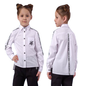 Школьная блузка рубашка