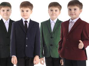 Школьный пиджак для мальчика ЛИЦЕЙ