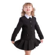 Пиджак ФЕЯ черный девочка