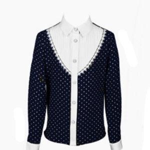 Школьная блузка на девочку  модель  ТИНА ПромАтелье