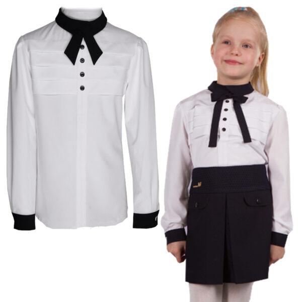 блузка ОДРИ белая