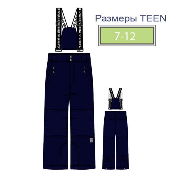 брюки TEEN NANO 2020 синие