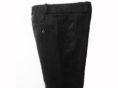 брюки ЛИЦЕЙ вельвет черный