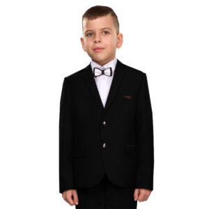Школьный костюм для мальчика черный